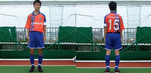 #15 下田篤男選手