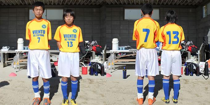 #7 トモキ選手/ #15 カイト選手
