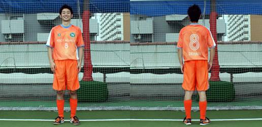 #8 DEHARI選手