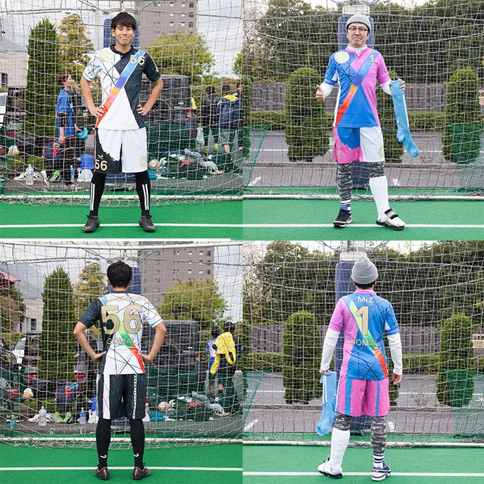 FP  #56・KO-SHIRO様 / GK   # 1・MiZ 様