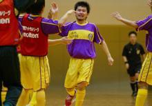 明日、高槻松原FCが初めての地元での公式戦。