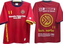 鴻池FCのプラシャツ完成