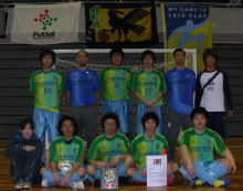 NEW ! Kintetsu futsal club にタイトル