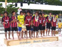 ビーチサッカー「アバンチ大阪」