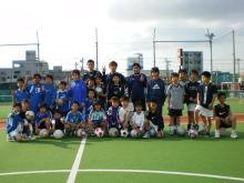 横浜ベイフットサルクラブの少年スクール
