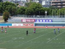 真夏の真昼のサッカー