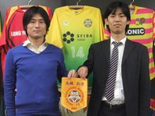 高槻松原FCの両選手!