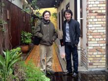 大塚選手とオスカル草葉
