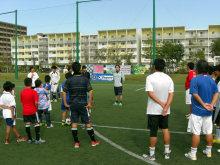 チャリティーサッカーミーティングin神戸学院