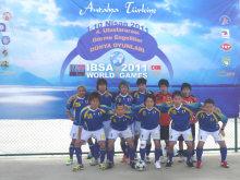 ブラインドサッカーB2/3日本代表