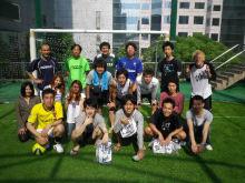 ロンヨンフットサルガーデン上海で3on3大会