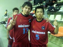 関西リーグ5節 ミキハウス 12-0 JOY 勝利!