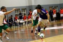 フットサル日本代表の原田浩平選手とボールを蹴ろう!