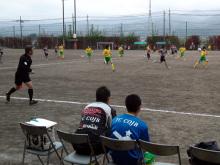 クラブユースU-15神奈川予選で!