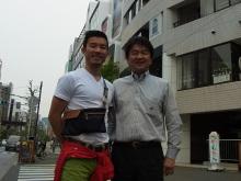 吉田輝がロンヨンジャパン原宿オフィスを訪問