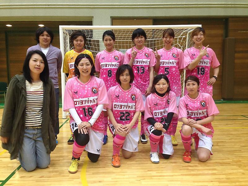 東京都1部女子フットサル開幕!